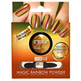 Resim Nail Art Magic Rainbow Powder - Gökkuşağı Bronze