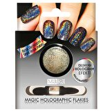 Resim Nail Art Magic Holographic Flakies