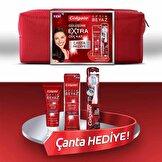 Optic White Çanta Hediyeli Ağız Bakım Seti (Extra Power 75 ml Diş Macunu + Diş Fırçası)