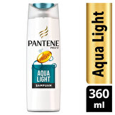 PANTENE ŞAMPUAN AQUA LIGHT 360ML