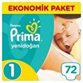 Yeni Yenidoğan 1 Ekonomik Paket Bebek Bezi 72 Adet