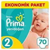 Yeni Bebek 2 Mini Ekonomik Paket Bebek Bezi 70 Adet