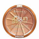 Sunshimmer 3 in 1 Shimmering Bronzer 001 Gold Princess