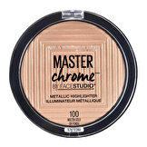 MAYBELLINE MASTER CHROME METAL HIGH.100 GOLD