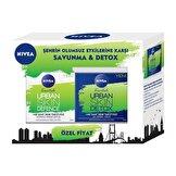 Urban Skin Defence Gündüz Kremi 50 ml + Detox Gece Kremi 50 ml