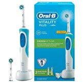 Vitality Şarj Edilebilir Diş Fırçası Cross Action + 1 Yedek Başlık