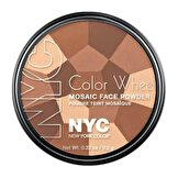 NYC Colour Wheel Mosaic Face Pudra All Over Bronze