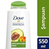 Avokado & Kalendula Özü Şampuan 550 ml