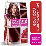 Creme Gloss Saç Boyası Böğürtlen Kızıl No. 550