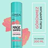 Magic Shampoo Görünmez Kuru Şampuan 200ml -Gül Bahçesi
