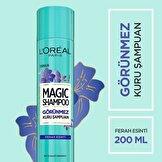 Magic Shampoo Görünmez Kuru Şampuan 200ml -Ferah Esinti