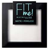 Fit Me Matte & Poreless Pudra No: 90 Transparan