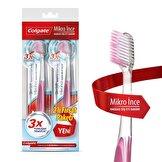 Mikro İnce Hassas Diş Eti Bakımı Diş Fırçası Yumuşak 1+1