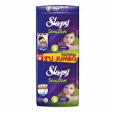 Sensitive Pepee Junior 5 Beden 48Li (2*24) İkili Jumbo