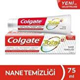 Total Gelişmiş Nane Temizliği Diş Macunu Naneli  75 ml