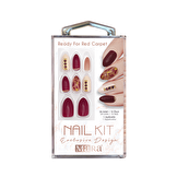 Nail Kit Takma Tırnak Ready For Red Carpet