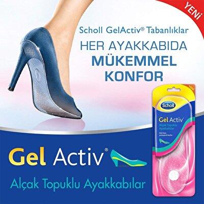 Gel Activ Tabanlık Alçak Topuklu Ayakkabı