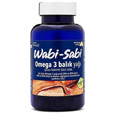 Omega 3 Balık Yağı 40 Yumuşak Kapsül 500 mg