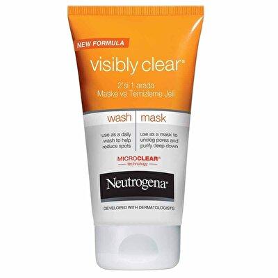 Visibly Clear 2'si 1 Arada Maske Temizleme Jeli 150 ml