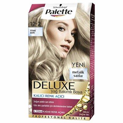 Deluxe Saç Boyası 12-2 Titan Sarı