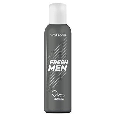 Fresh Men Deodorant Sprey Pudrasız