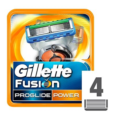 Fusion ProGlide Power Yedek Tıraş Bıçağı 4'lü