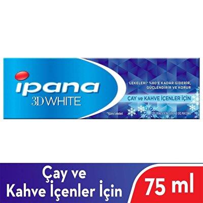 3 Boyutlu Beyazlık Çay Kahve İçenler İçin Diş Macunu 75 ml