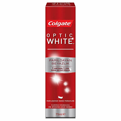 Optic White Parıltılı Beyazlık Diş Macunu 75 ml
