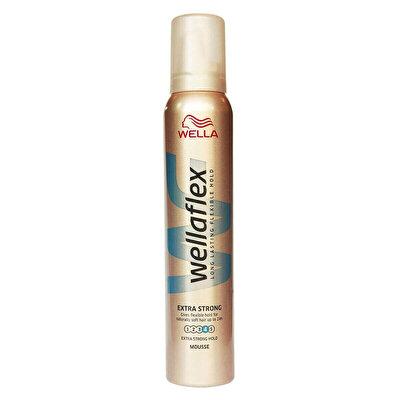 Flex Ekstra Güçlü Tutuş Saç Köpüğü 200 ml
