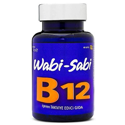 1000 Mcg Vitamin B12 500 mg 40 Sert Kapsül