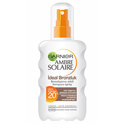 Ambre Solaire İdeal Bronze Sprey F20 200 ml