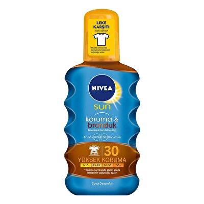 Sun Protect & Bronz Güneş Yağı Spf30 200 ml
