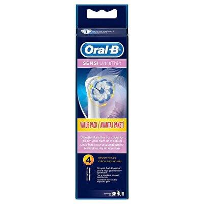 Diş Fırçası Yedek Başlığı Sensitive Ultra Thin  4 adet