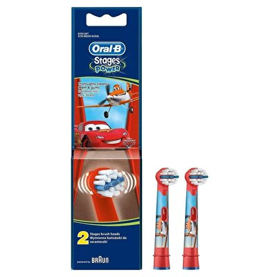 Cars Stages Diş Fırçası Yedek Başlığı Çocuk 2 adet