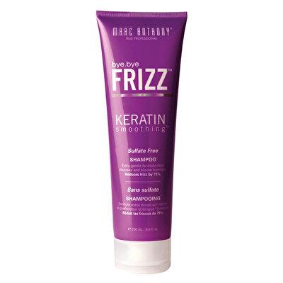 Elektriklenen Saçlar için Düzleştirici Keratin Şampuan 250 ml