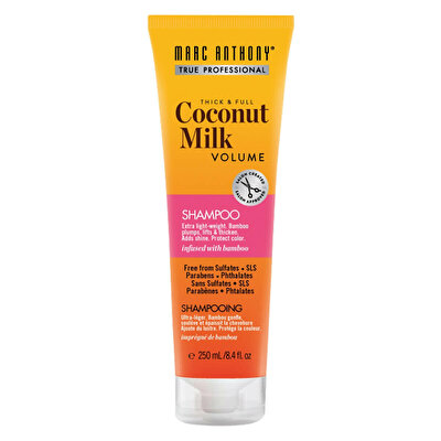 İnce Telli Saçlar için Dolgunlaştırıcı & Kalınlaştırıcı Coconut Milk Şampuan 250 ml