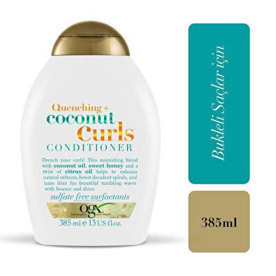 Bukleli Saçlar için Nemlendirici Coconut Curls Bakım Kremi 385 ml
