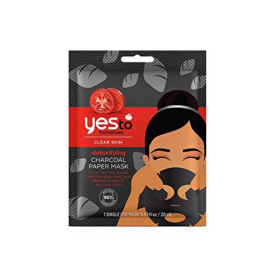 Tek Kullanımlık Arındırıcı Kömür Kağıt Maske 20 ml