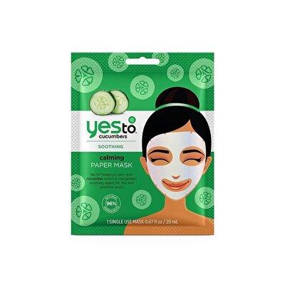 Tek Kullanımlık Salatalık Yatıştırıcı  Maske 20 ml