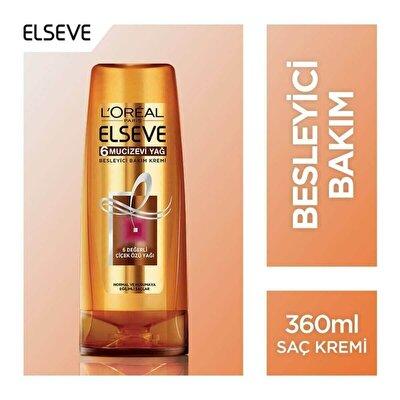 6 Mucizevi Yağ Saç Kremi 360 ml