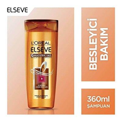 6 Mucizevi Yağ Şampuan 360 ml