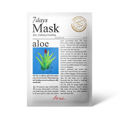 Seven Days Tek Kullanimlik Maske Aloe vera