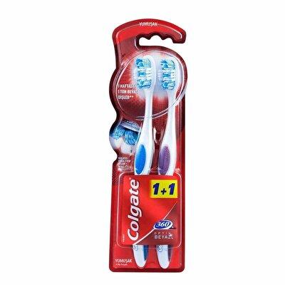 360 Optik Beyaz Diş Fırçası Yumuşak 1+1