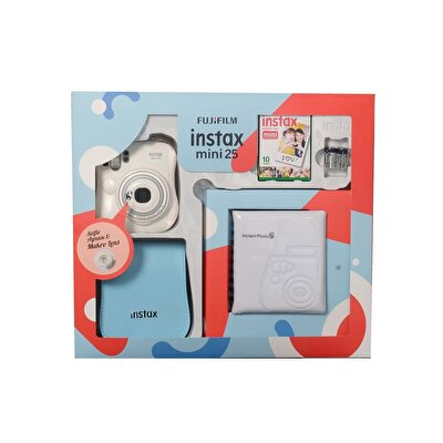 Instax Mini 25 Box Beyaz