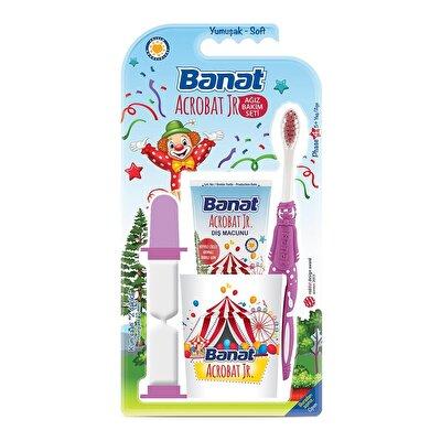 Acrobat Çocuk Diş Fırçası Ağız Bakım Seti