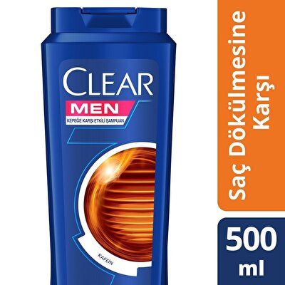 Saç Dökülmesine Karşi Etkin Savunma Erkek Şampuanı 500 ml