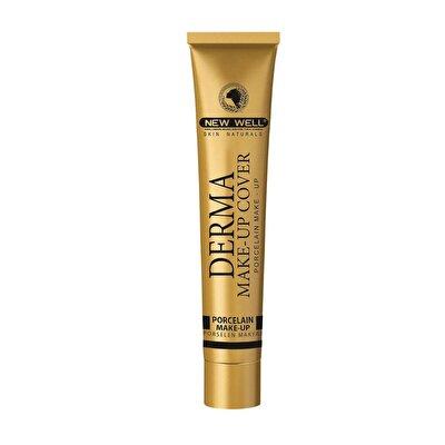 Derma Makeup Cover Porselen Fondöten Gold