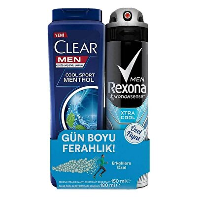 Extra Cool Deodorant 150ml+Clear Cool 150 ml