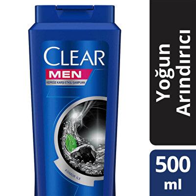 Kömür Etkili Yoğun Arındırıcı Erkek Şampuan 500 ml