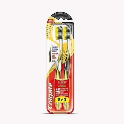 Slimsoft Advanced Diş Macunu Gold 1+1